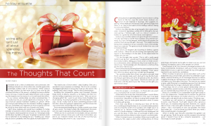 gift giving article
